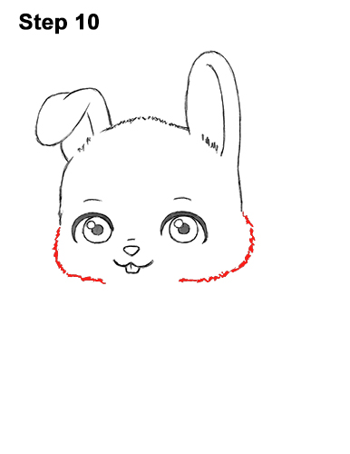 Draw Cute Cartoon Bunny Rabbit Chibi Little Mini 10