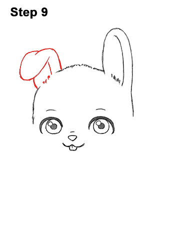 Draw Cute Cartoon Bunny Rabbit Chibi Little Mini 9