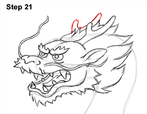 Draw Chinese Dragon 21