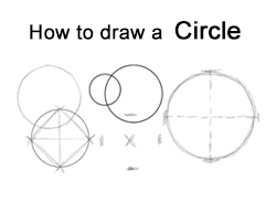 How to draw a Circle four different ways