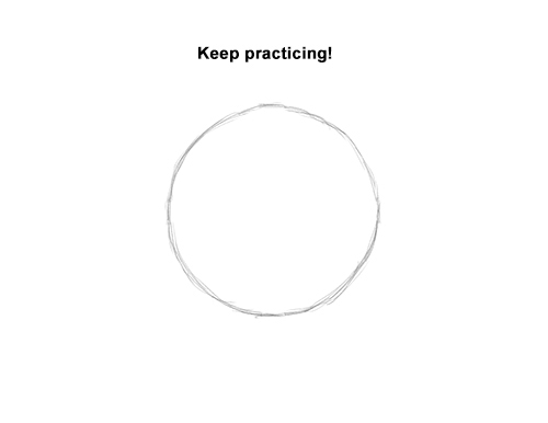 How to Draw a Circle Easy Simple Beginner Basic Art Fundamental 9