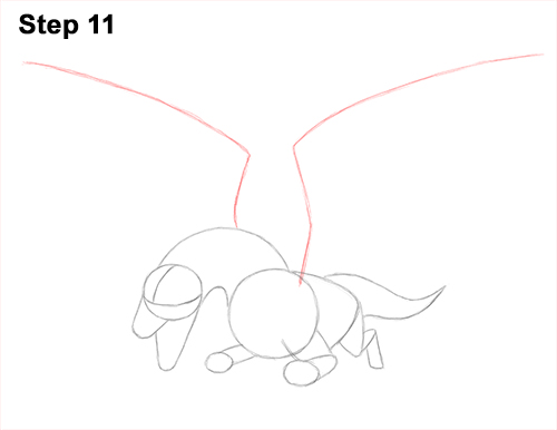 How to Draw Dragon Flying Fire Wings Flames 11