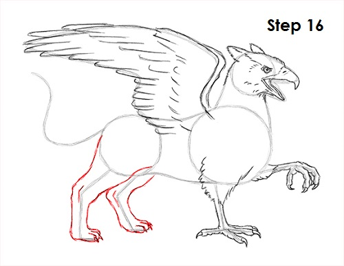 Gallery For gt Easy Griffins Mythical Creatures Drawings