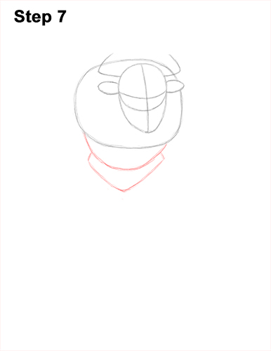 How to Draw Cool Angry Minotaur Bull Horns 7