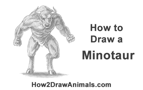How to Draw Cool Angry Minotaur Bull Horns