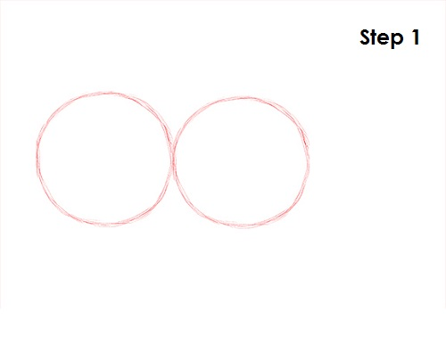 how to draw an arc touching two circles in solidworks