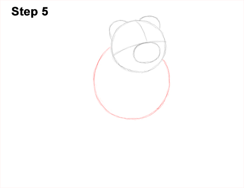 How to Draw a Scottish Fold Cat Playing Pawing Swiping 5