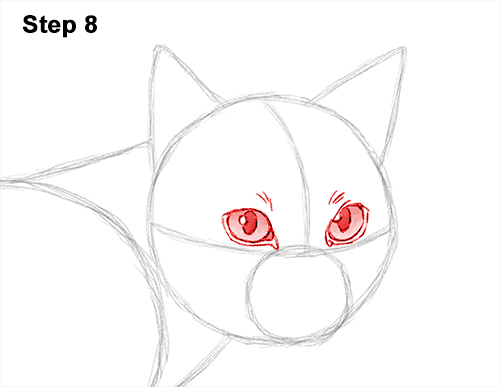 Draw Siamese Cat 8