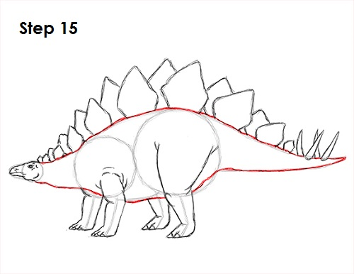 how to draw dinosaurs for kids step by step