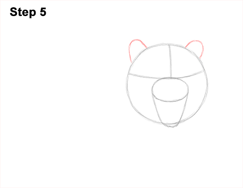How to Draw a Mean Tiger Roaring Growling Stalking 5