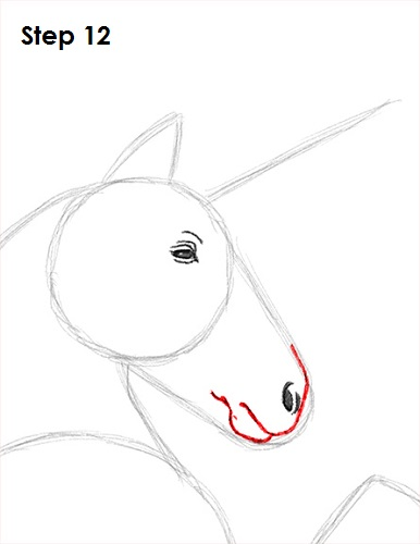 Draw Unicorn 12