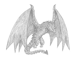 How to Draw a Wyvern Dragon Flying