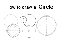 How to Draw a Perfect Circle Tutorial