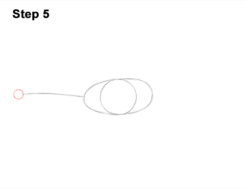 How to Draw Dinosaur Diplodocus Sauropod 5