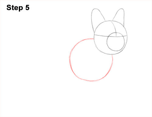 How to Draw French Bulldog Frenchie Puppy Dog 5