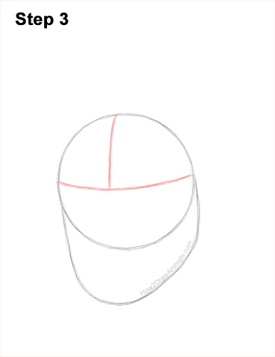 How to Draw a Gorilla Head Face Portrait 3