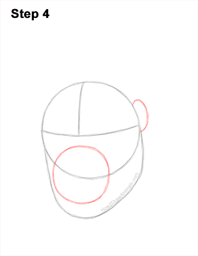 How to Draw a Gorilla Head Face Portrait 4