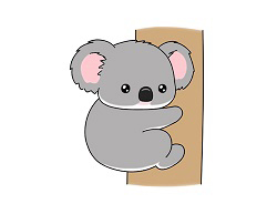 How to draw a Cartoon Koala Bear