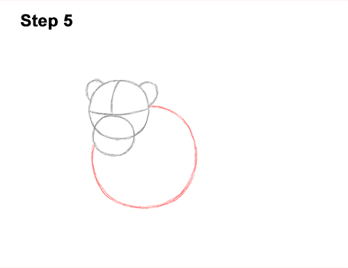 How to Draw a Lion Color Side Laying Lying Down 5