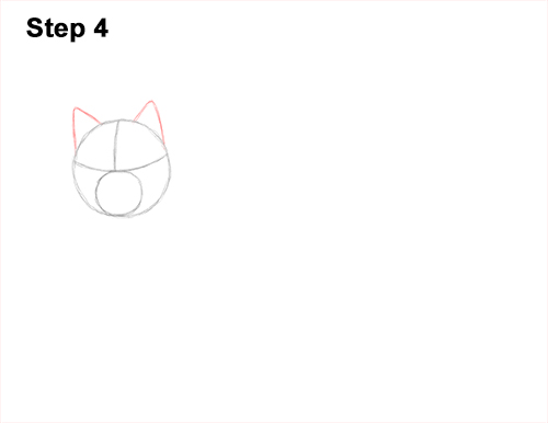 How to Draw Canada Lynx Cat Bobcat Wildcat 4