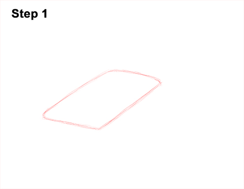 How to Draw Giant Oceanic Manta Ray 1