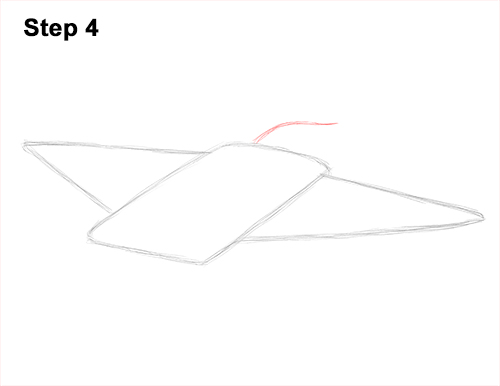 How to Draw Giant Oceanic Manta Ray 4