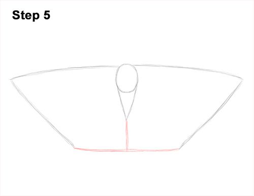How to Draw an Emperor Moth Wings Insect 5