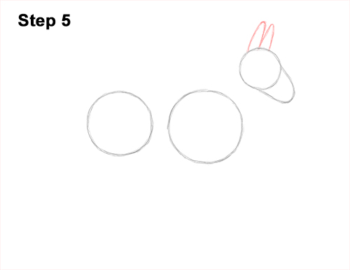 How to Draw a Mule Horse Donkey Side View 5