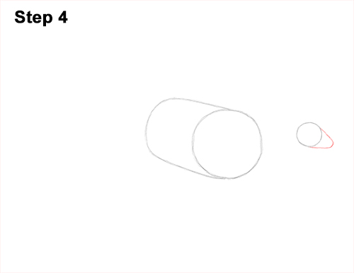 How to Draw a Parasaurolophus Dinosaur 4