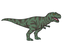 How to Draw an Angry Cartoon T. Tyrannosaurus Rex
