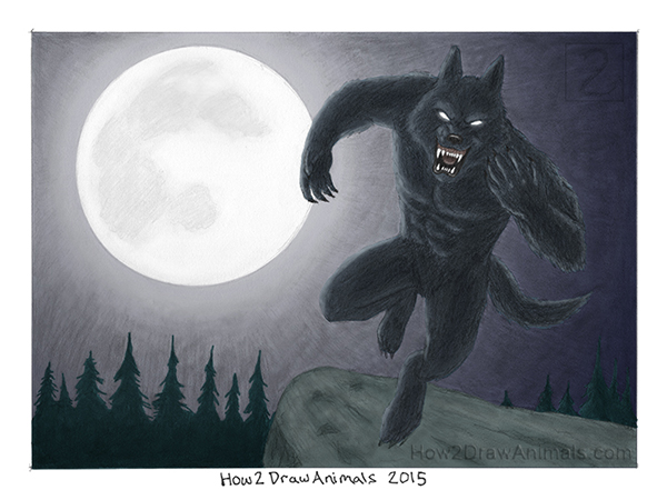 Special Werewolf Drawing